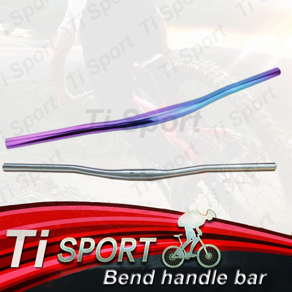 Manija para tubos tisport 31,8 mm de aleación de titanio para MTB 580 600 620 640 660-760mm
