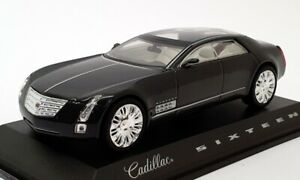 Norev-1-43-Scale-Model-Car-910000-Cadillac-Sixteen-Met-Dark-Grey