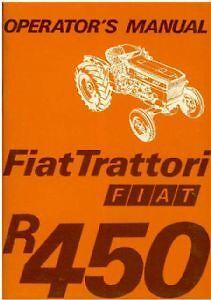 fiat tractor r450 special vineyard dt operators manual ebay rh ebay co uk fiat 450 tractor workshop manual fiat 450 tractor workshop manual pdf