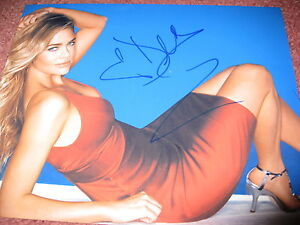 DENISE-RICHARDS-SIGNED-AUTOGRAPH-8x10-PHOTO-SEXY-BABE-IN-PERSON-COA-RARE-BOND-G