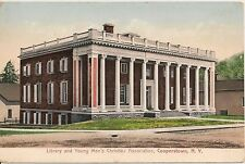 Library and Y.M.C.A. Cooperstown New York NY Postcard
