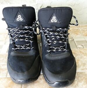 Details about Nike Mens Alder Mid ACG SNEAKER BOOT MENS SIZE 8 All Black  -599660 003