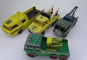 Vintage-Matchbox-Foden-ruptura-Recuperacion-Camion-Transportador-Racingcar-Tractor-AA