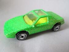1984 Hot Wheels Ultra Hots Lime Green Pontiac 59 FIERO 2M4 Sports Car (Minty)