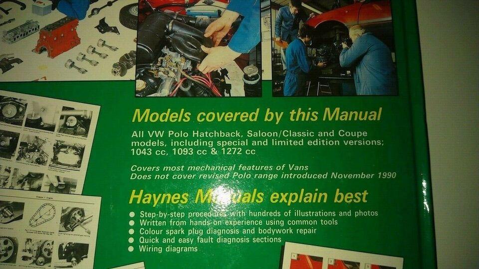 Haynes reparationshåndbog
