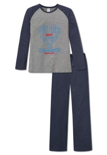 Nuit Schiesser Boy 164 176 Long de 100 Vêtements Coton 152 Pyjama 88wqrHSR