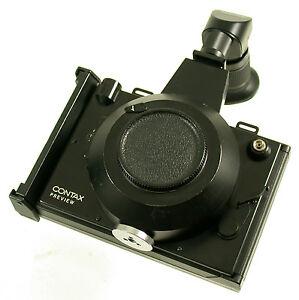 CONTAX-Preview-Polaroid-back-Kamera-camera-mechanic-shutter-for-Zeiss-lens