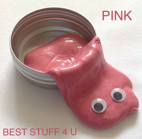 New Pastel Colours Slime Mud Plasticine Putty Play Dought Rubber Toy Kids 79a