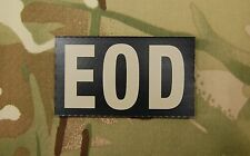 Infrared EOD Black & Tan Patch Explosive Ordnance Disposal US Army Navy VELCRO®
