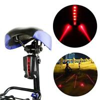 Bicycle Laser Taillight Rear Light Wireless Braking Warning Brake Version P2t2
