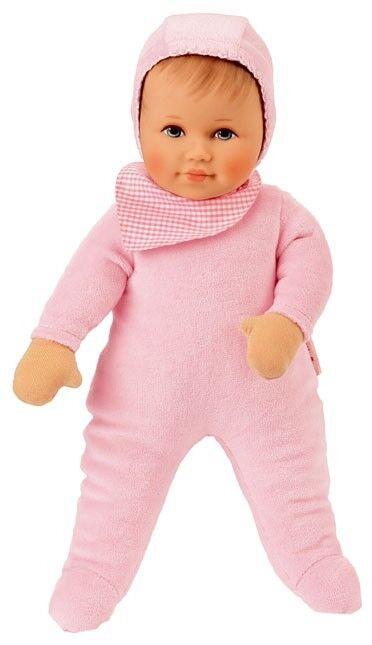 Käthe Kruse Baby Puppe mit Strampler Leoni Rosa 36cm Babys NEU
