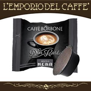 100-Capsule-Cialde-Caffe-Borbone-Don-Carlo-Nero-compatibili-Lavazza-A-Modo-Mio
