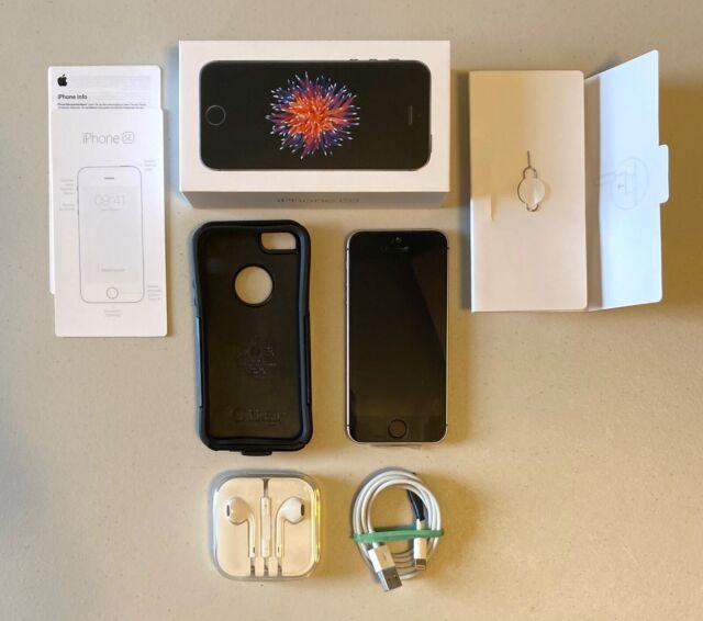 Apple iPhone SE - 32GB - Space Gray (Unlocked) A1723 (CDMA + GSM) 1st Gen