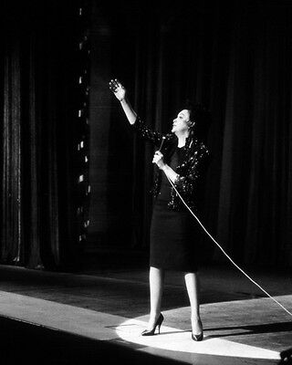 JUDY GARLAND I COULD GO ON SINGING 8X10 PHOTO ON STAGE