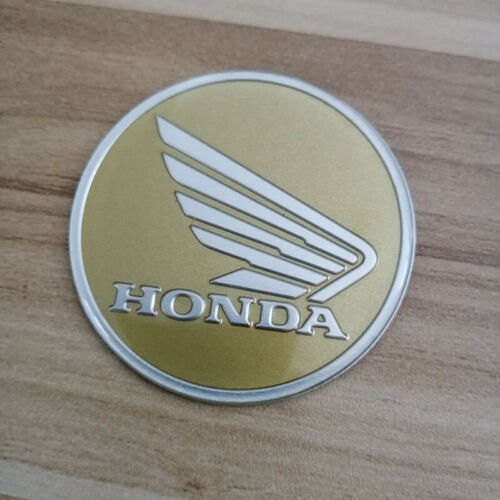 3D Wing Round Tank badge emblem Sticker for Honda CB CBR600RR CB500X CB400 6CM