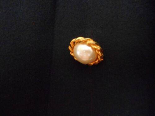 e oro 10 bottoni con perle petto taglia a in dorati false Bottoni doppio RUw8Wq