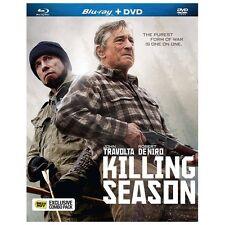 Killing Season (Blu-ray/DVD, 2013, 2-Disc Set) Robert De Niro, John Travolta