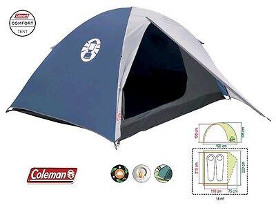 Bello Tenda Per Campeggio 2 Posti Modello Weekend Marchio Coleman - Peso Solo 2,70 Kg