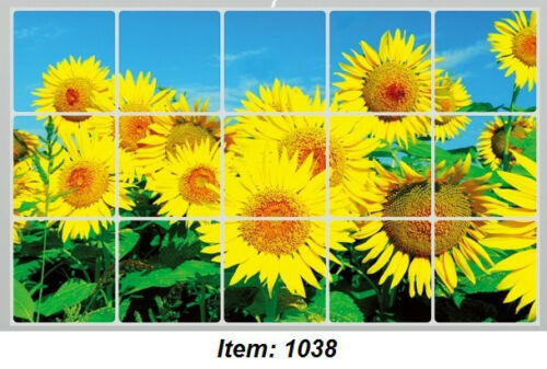 "30""x18"" Kitchen Wall Sticker Oil Proof Grease Stain Splatter Proof"