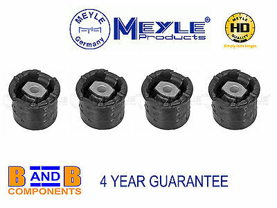 FOR SEAT CORDOBA IBIZA REAR AXLE SUBFRAME SUSPENSION ARM BEAM BUSH MEYLE GERMANY