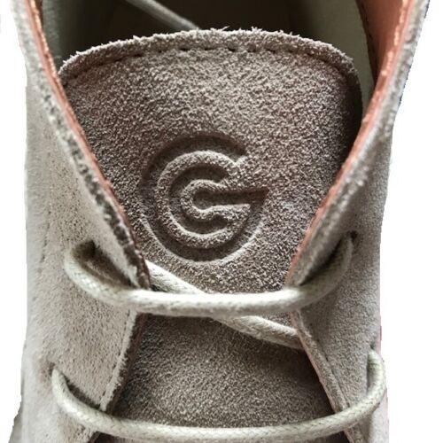 Delicious Junction Gary Crowley Biege Suede  Desert Boots …