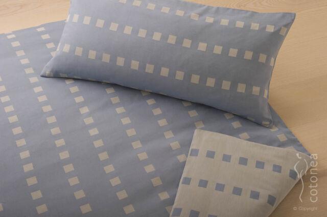 Satin-Bettwäsche Caro aus 100% Bio-Baumwolle, 80x80/135x200 Himmel NEU !