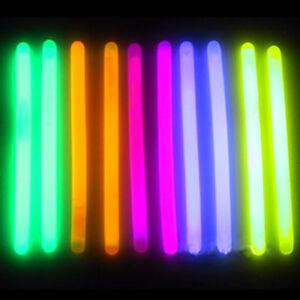 "25 6/"" Premium Thick Party Light Glow Sticks PINK"