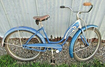 """Schwinn Approved  B-6 Autocycle 26/"""" Bicycle Fender Set On Sale"""