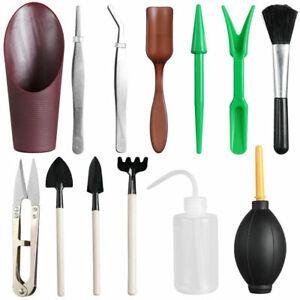 US-Ship-13pcs-Mini-Garden-Hand-Scissor-Planting-Shovel-Gardening-Tools-Succulent