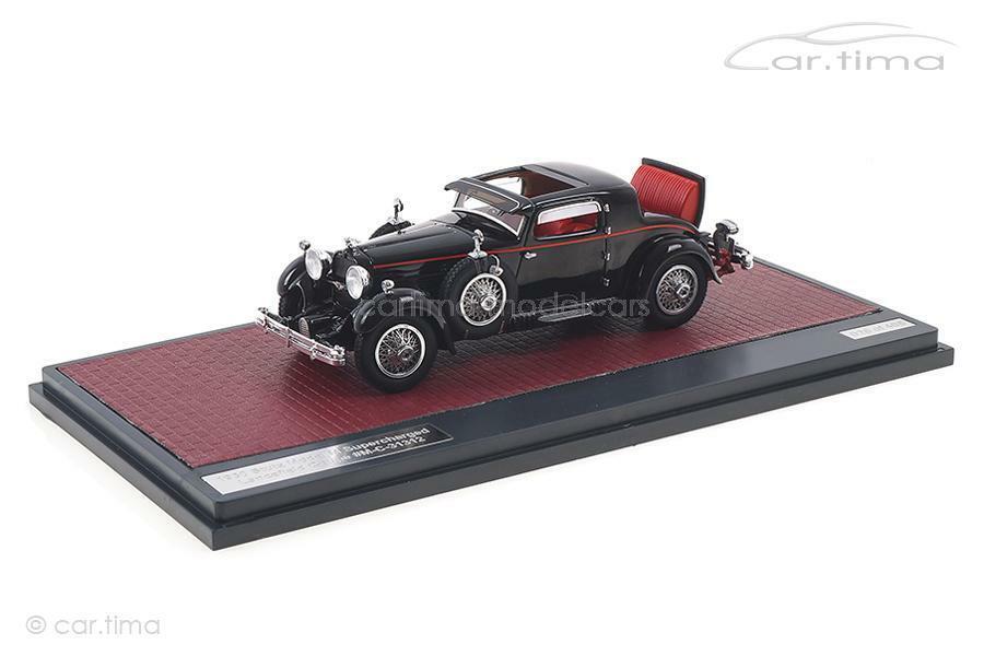 Stutz model m súpercharged viridans Coupe-negro-Matrix 1 43 - mx41804-05