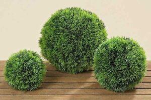 Boltze-Kunstpflanzen-amp-blumen-Graskugel-18-cm-1-Stueck