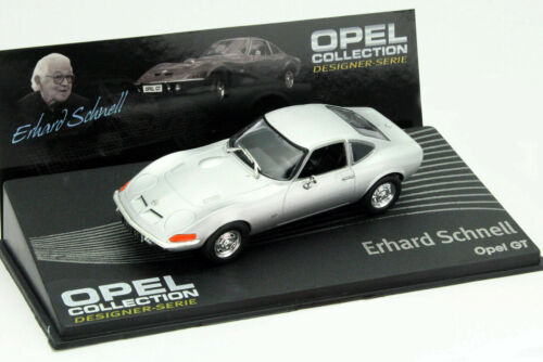 Nice 1//43 Opel GT Coupe Erhard Schnell Edition Ixo Eaglemoss London UK