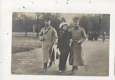 Prinz Ernst August Victoria Luise & Oskar 1913 RP Postcard Germany Royalty 046b