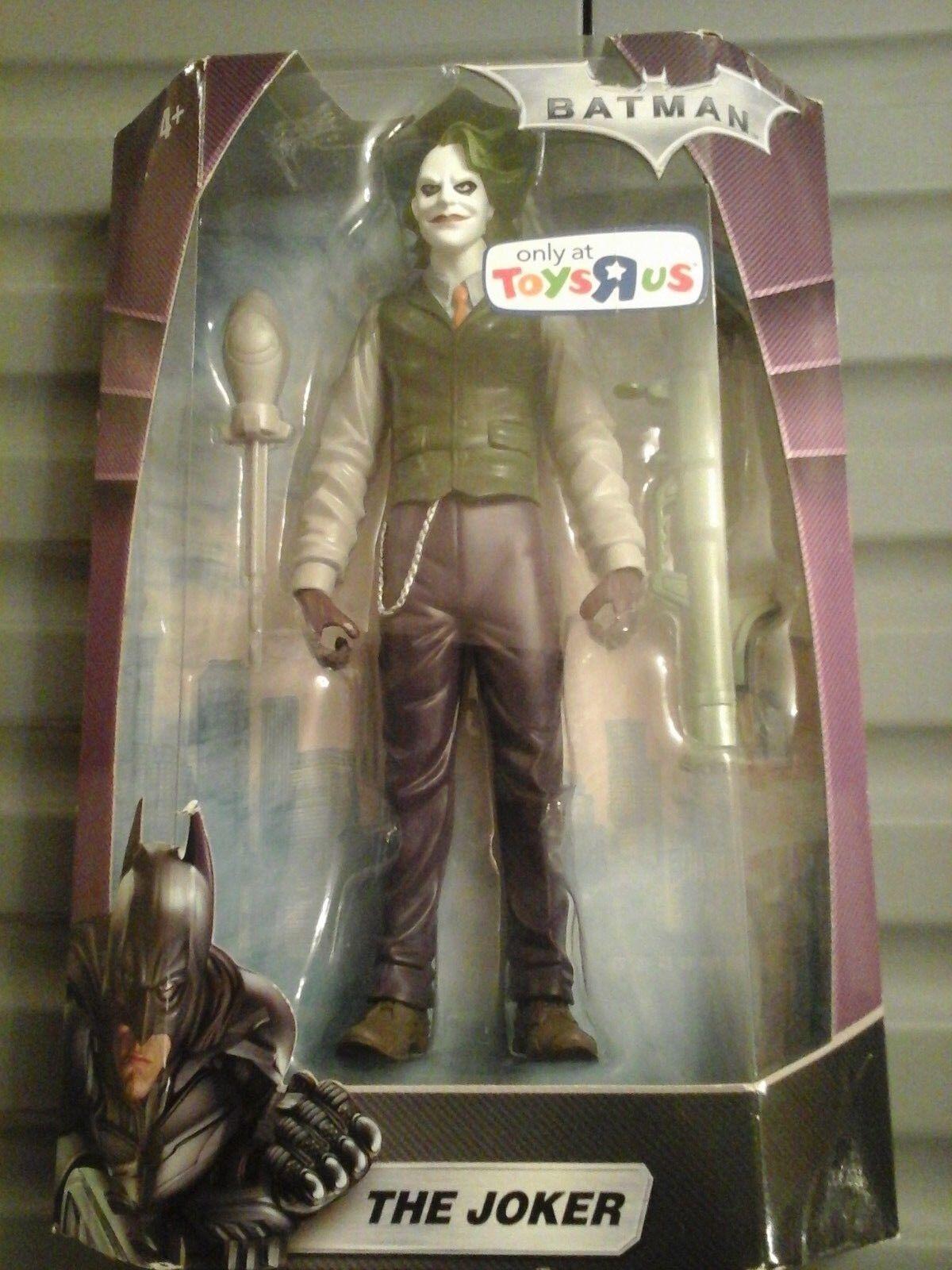 BATMAN Il Cavaliere Oscuro Joker Action Figure Toys R HEATH LEDGER film Us NUOVO