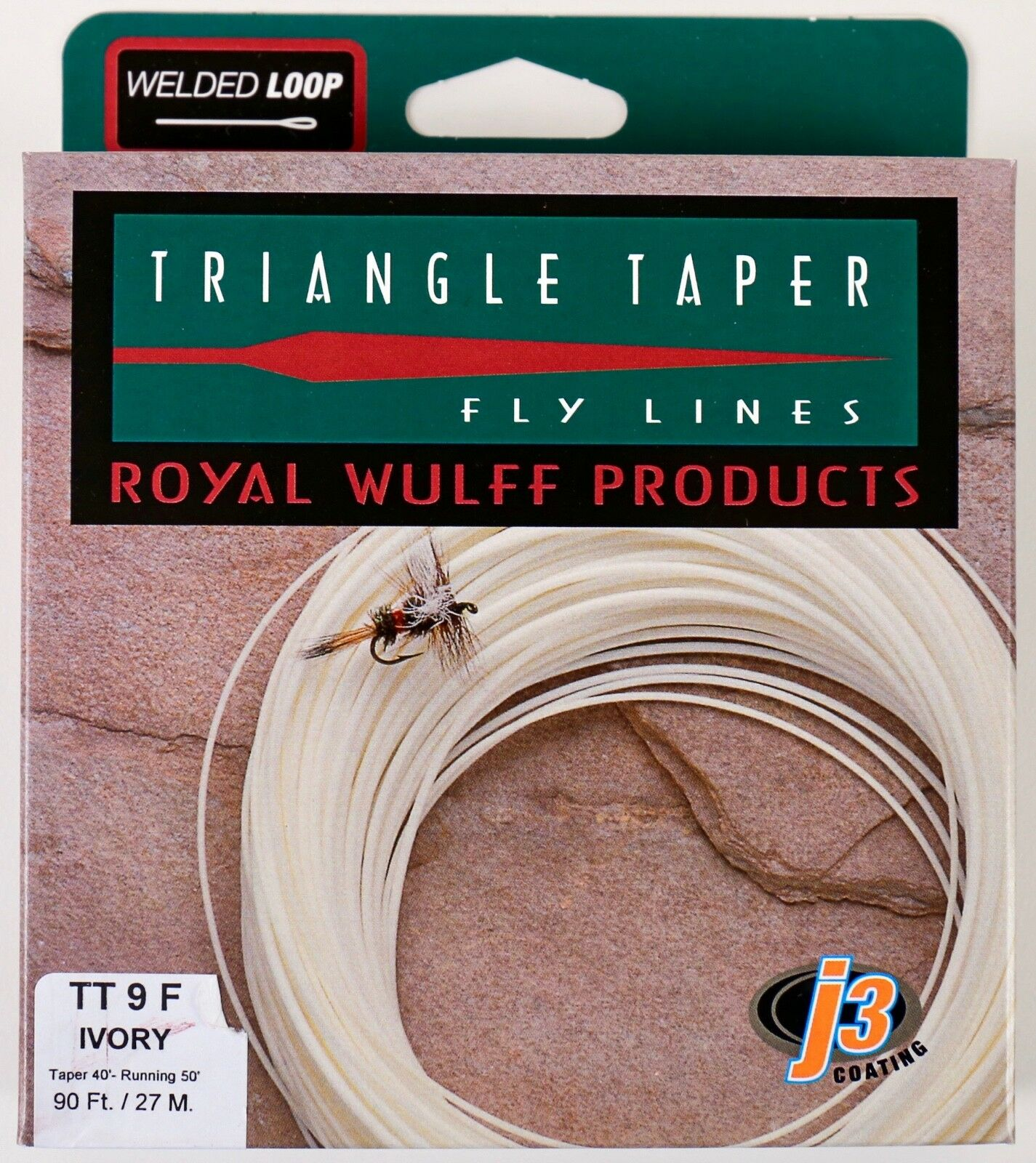 Royal Wulff Triangle Taper 9 WT Floating Fly Line Ivory Free Fast Shipping TT9F