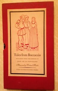 TALES-FROM-BOCCACCIO-1947-FIRST-EDITION-illustrated-by-Richard-Fontaine