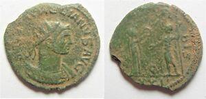 Aa4494 Enthusiastic Zurqieh Aurelian Ae Antoninianus