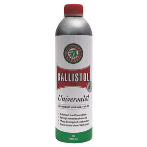 BALLISTOL 500 ml Universalöl Pflegeöl Rostschutz Waffenöl Messerpflege Öl Klever