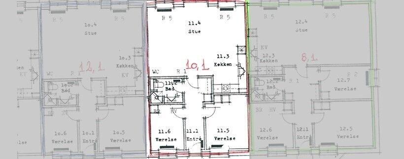 5771 vær. 3 lejlighed, m2 89, Humlevænget