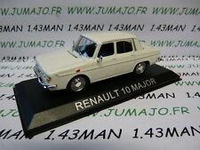voiture 1/43 IXO série Balkan : RENAULT R 10 Major blanche