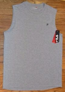 6fbb3e53e9d818 Image is loading Fila-Sport-Performance-Muscle-Tank-Sleeveless-Tee-Mens-