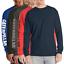 Caterpillar-Men-039-s-Trademark-Banner-L-S-T-Shirt-Retail-25 thumbnail 1
