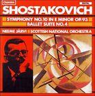 Dmitri Shostakovich:Symphony No. 10/Ballet Suite No. 4 (CD, Mar-1989, Chandos)