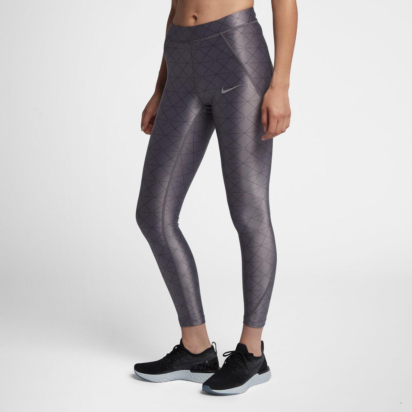 Nike Speed Donna 63.5cm Collant da da da Corsa Riflettente Gym Training f9a54b