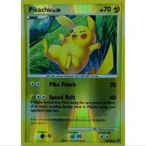 Pikachu-70-100-reverse-Holo-Diamond-and-Pearl-ingles-nm-Mint