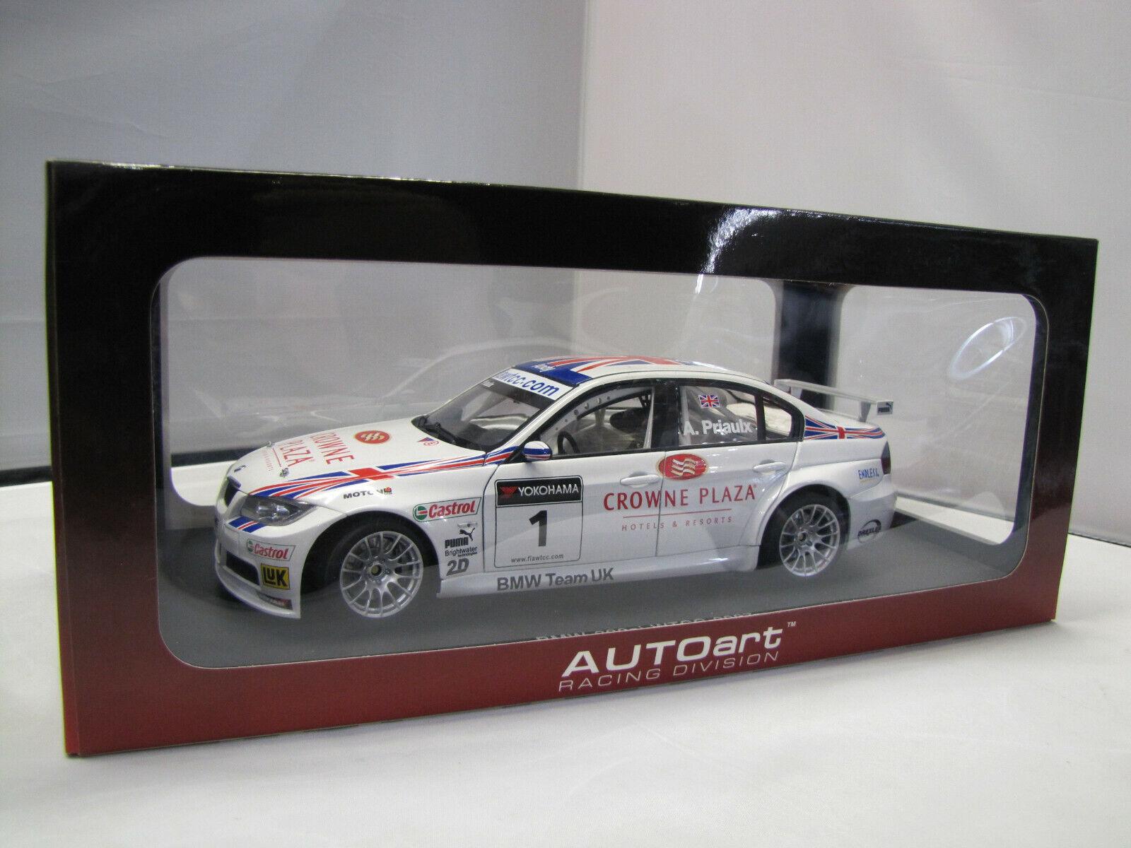 80746 AUTOart BMW 320si WTCC 2007 Nr. 1 - A.Priaulx  - 1 18  | Erschwinglich