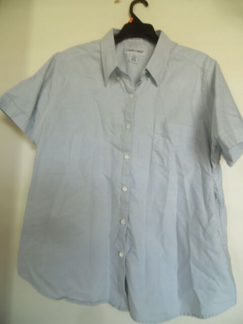 CABIN CREEK WORRY FREE  TOP SHIRT BLOUSE SZ 20W