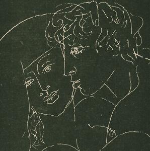 "Walter Womacka ""Paar"" signiert 1985"
