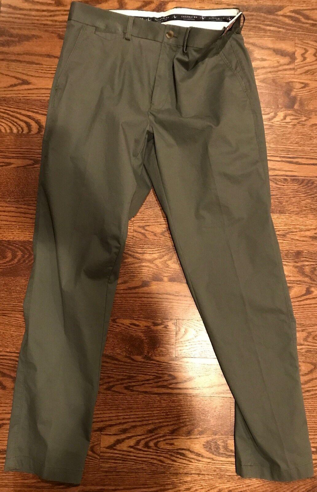 Tailorbyrd - NEW Men's Dark Sage Pants - Size 38 30