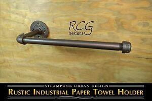 DIY-Industrial-Pipe-Paper-Towel-Holder-urban-steampunk-rustic-decor